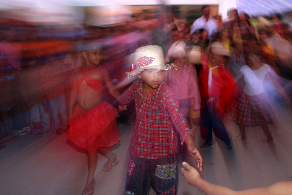 Seabra_BA, Brasil...Festa Junina em uma escola publica em Seabra, Bahia...June party in the public school in Seabra, Bahia...Foto: LEO DRUMOND / NITRO.