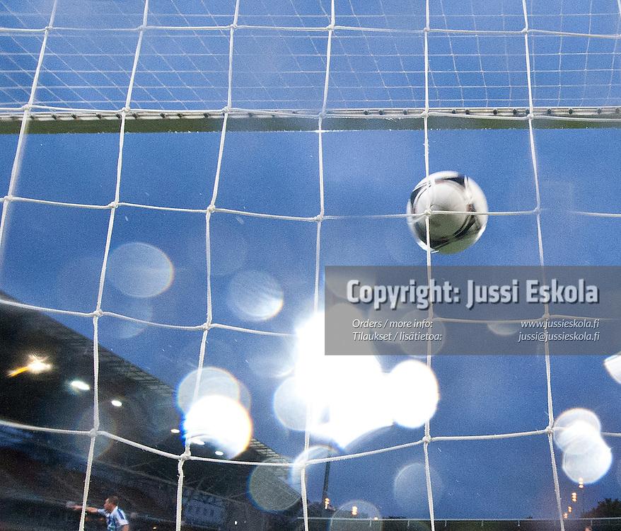 HJK - Inter. Veikkausliiga. Helsinki 23.9.2012. Photo: Jussi Eskola