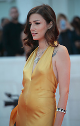 September 3, 2017 - Venice, Italy - Eleonora Carisi  walks the red carpet ahead of the 'The Leisure Seeker (Ella & John)' screening during the 74th Venice Film Festival  in Venice, Italy, on September 3, 2017. (Credit Image: © Matteo Chinellato/NurPhoto via ZUMA Press)