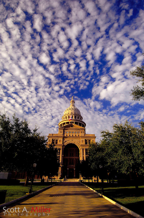September 5, 2007, Austin; The Texas State Capital in Austin, Texas...