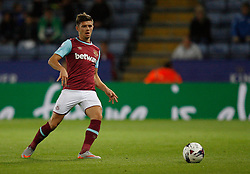 Aaron Cresswell of West Ham United in action  - Mandatory byline: Jack Phillips/JMP - 07966386802 - 22/09/2015 - SPORT - FOOTBALL - Leicester - King Power Stadium - Leicester City v West Ham United - Capital One Cup Round 3