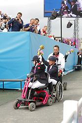 Baker, Natasha;<br /> Näpel, Britta;<br /> Trabert, Angelika, <br /> London Paralympics 2012<br /> Grade II<br /> © www.sportfotos-lafrentz.de/ Stefan Lafrentz