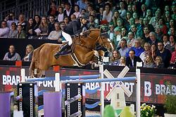 Smolders Harrie, NED, Emerald<br /> The Dutch Masters<br /> Indoor Brabant - 's Hertogen bosch 2018<br /> © Hippo Foto - Dirk Caremans<br /> 11/03/2018