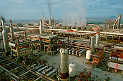 MEXICO, INDUSTRY, PETROLEUM New oil refinery, largest in Latin America, at Salina Cruz on Pacific Coast in Oaxaca State