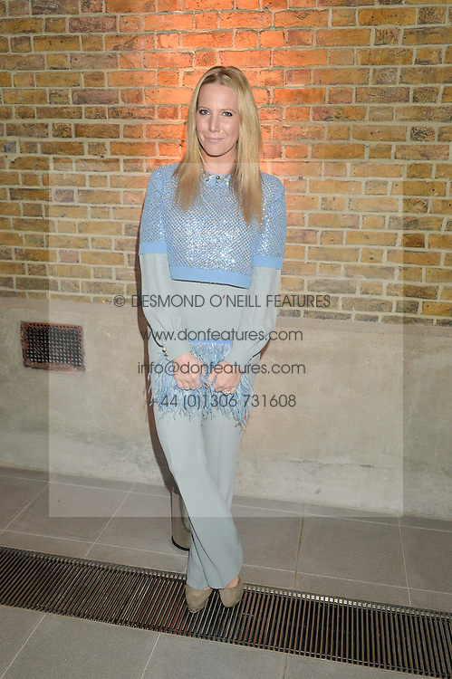 ALICE NAYLOR-LEYLAND at the Future Contemporaries Party in association with Coach at The Serpentine Sackler Gallery, West Carriage Drive, Kensington Gardens, London on 21st February 2015.