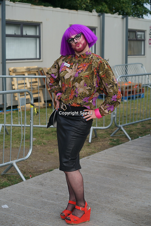 London, England, UK. 16th July 2017. E.Z.Street is a performer at the Citadel Festival at Victoria Park, London, UK.