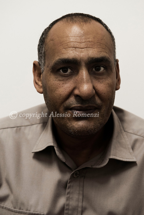 Libya, Misurata: Portrait of a lawyer once leaving in Sirte and than escaped when ISIS took over the city. Alessio Romenzi