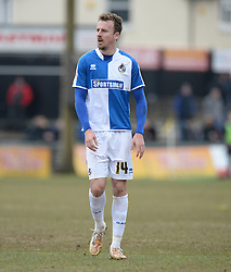 Chris Lines of Bristol Rovers - Mandatory byline: Alex James/JMP - 19/03/2016 - FOOTBALL - Rodney Parade - Newport, England - Newport County v Bristol Rovers - Sky Bet League Two