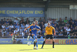 Alex Rodman of Bristol Rovers and Marcus Forss of AFC Wimbledon tussle for the ball - Mandatory by-line: Arron Gent/JMP - 21/09/2019 - FOOTBALL - Cherry Red Records Stadium - Kingston upon Thames, England - AFC Wimbledon v Bristol Rovers - Sky Bet League One