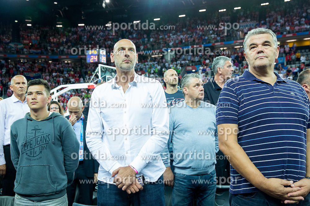 Emilio Kovacic during basketball match between Croatia and Slovenia at Day 1 in Group C of FIBA Europe Eurobasket 2015, on September 5, 2015, in Arena Zagreb, Croatia. Photo by Vid Ponikvar / Sportida
