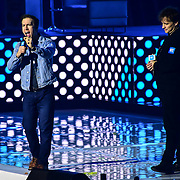Speaks Marc Keilburger, Craig Keilburger 2020 WE Day UK at Wembley Arena, London, Uk 4 March 2020.