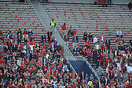 Student section at Ole Miss vs. Presbyterian at Vaught-Hemingway Stadium in Oxford, Miss. on Saturday, November 8, 2014. (AP Photo/Oxford Eagle, Bruce Newman)