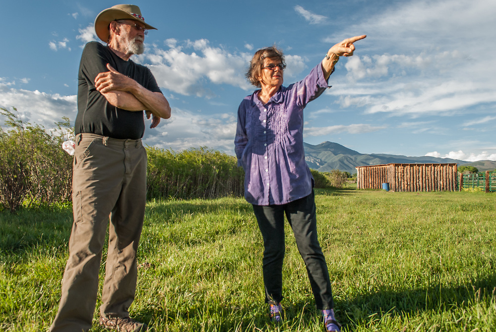 Conservation Easement Landowners: John and Rebecca HallContinuing a Legacy of Land Conservation One of the more foolish things a community can do is build on its farmland. This is especially true in arid regions where arable land is at a premium. In 1994 Dr. William Droke saw such foolishness creeping into the agricultural lands of the Taos Valley and placed a conservation easement on about 18 acres of irrigated farmland on both sides of the Rio Fernando, smack in the heart of the valley.<br />