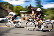 The Bucks County Classic professional road cycling race, as seen from Carversville, Pa.