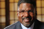 R.O. Crockett Leadership Institute Principal Roger O. Crockett is photographed at Hotel Allegro in Chicago.
