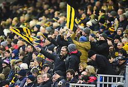 wasps fans - Mandatory by-line: Alex James/JMP - 25/01/2020 - RUGBY - Sixways Stadium - Worcester, England - Worcester Warriors v Wasps - Gallagher Premiership Rugby