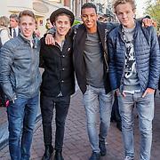 NLD/Amserdam/20150505 - Bevrijdingsconcert 2015 Amsterdam, Mainstreet, Daan Zwierink, Nils Käller, Rein van Duivenboden en Owen Playfair