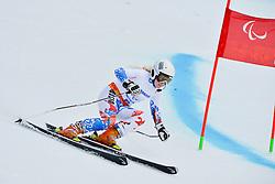 Aleksandra Frantceva, Women's Giant Slalom at the 2014 Sochi Winter Paralympic Games, Russia