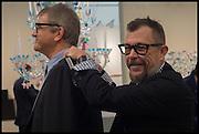 JAY JOPLING; ED SAUL, Opening of Frieze art Fair. London. 14 October 2014