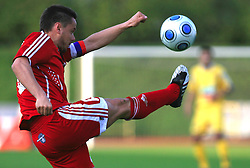 Ermin Rakovic scored twice at 1st semifinal match of Pokal Hervis between NK Interblock and NK Maribor at  ZAK Stadium, on April 15, 2009, in Ljubljana, Slovenia.  (Photo by Vid Ponikvar / Sportida)