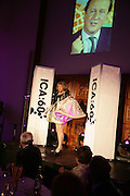 Grayson Perry, ICA 60: PECHA KUCHA. Fundraiser for the Institute of Contemporary Arts. Florence Hall, RIBA, 66 Portland Place, London. 17 May 2007. -DO NOT ARCHIVE-© Copyright Photograph by Dafydd Jones. 248 Clapham Rd. London SW9 0PZ. Tel 0207 820 0771. www.dafjones.com.