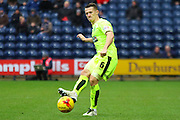 Huddersfield Midfielder Jonathon Hogg during the Sky Bet Championship match between Preston North End and Huddersfield Town at Deepdale, Preston, England on 6 February 2016. Photo by Pete Burns.