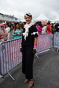 03/08/2017   Repro free Finalist at the g Hotel competitions  at the Galway Races  was Lorna Doogue from Carlow   . Photo: Andrew Downes, xposure
