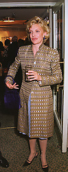 WENDY, COUNTESS OF CALEDON, at a gala evening in London on 9th June 1999.MSZ 69