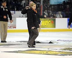 Game 4 of the SUBWAY Super Series in Sudbury, ON on Monday Nov. 15, 2010.  Photo by Aaron Bell/OHL Images