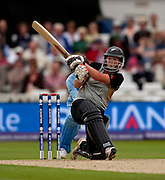 Aimee Watkins bat during her 89 not out in the ICC Women's World Twenty20 Cup semi-final between New Zealand and India at Trent Bridge. Photo © Graham Morris (Tel: +44(0)20 8969 4192 Email: sales@cricketpix.com)