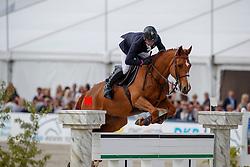 MONETA Luca Maria (ITA), Connery<br /> Hagen - Horses and Dreams meets the Royal Kingdom of Jordan 2018<br /> Grosser Preis der DKB Qualifikation DKB-Riders Tour<br /> 30 April 2018<br /> www.sportfotos-lafrentz.de/Stefan Lafrentz