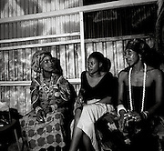 Fela Kuti and Wives at the Shrine - Lagos