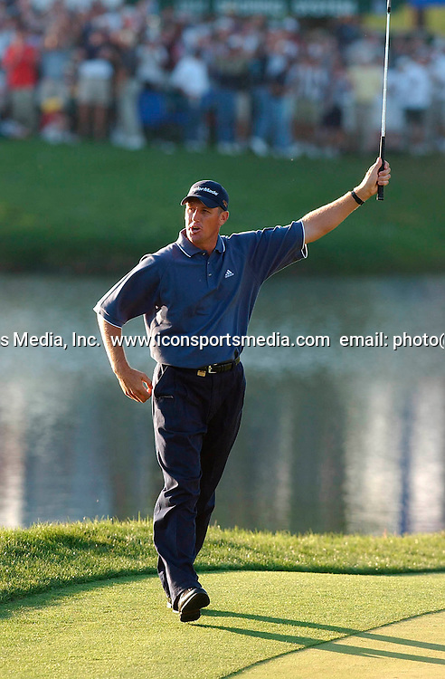 Craig Perks during the final round of The Players Championship at the TPC at Sawgrass in Ponte Vedra Beach, FL, 24 March, 2002. Photo: Icon SMI/ PHOTOSPORT