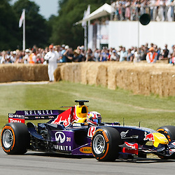 Red Bull-Cosworth RB1 driven by Pierre Gasly at the Goodwood Festival of Speed, June the 27th. © Sam Todd | SportPix.org.uk