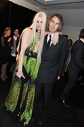 KRISTEN McMENAMY and IVOR BRAKA at the Warner Music Group Post Brit Awards Party in Association with Samsung held at The Savoy, London on 20th February 2013.