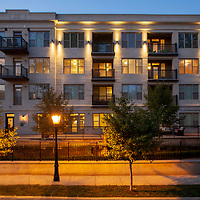 Residential exterior photography for Union Hill in Kansas City