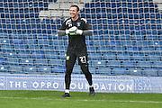 Bury Goalkeeper, Paul Rachubka (21) warms up during the EFL Sky Bet League 1 match between Bury and Port Vale at the JD Stadium, Bury, England on 3 September 2016. Photo by Mark Pollitt.