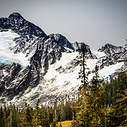 The receding glaciers on Mount Shuksan in Northern Cascades National Park.