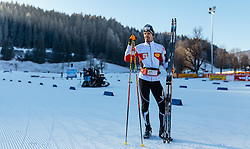16.12.2016, Nordische Arena, Ramsau, AUT, FIS Weltcup Nordische Kombination, Langlauf, im Bild Lukas Klapfer (AUT) // Lukas Klapfer of Austria during Cross Country Training of FIS Nordic Combined World Cup, at the Nordic Arena in Ramsau, Austria on 2016/12/16. EXPA Pictures © 2016, PhotoCredit: EXPA/ JFK