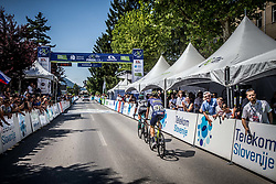 Peloton in Kocevje during Stage 1 of 24th Tour of Slovenia 2017 / Tour de Slovenie from Koper to Kocevje (159,4 km) cycling race on June 15, 2017 in Slovenia. Photo by Vid Ponikvar / Sportida