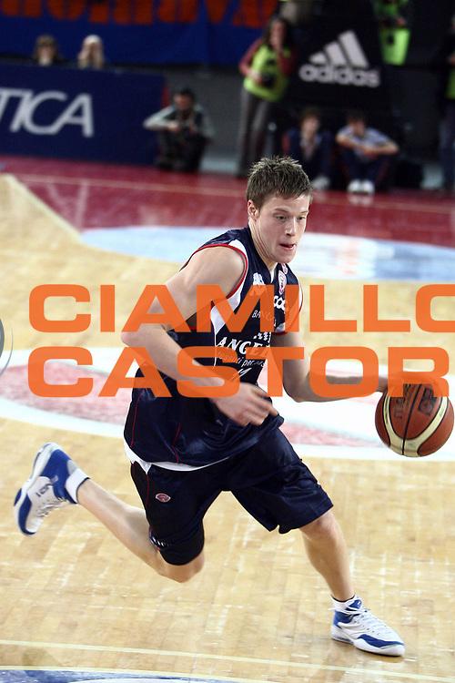 DESCRIZIONE : Roma Lega A1 2007-08 Lottomatica Virtus Roma Angelico Biella<br /> GIOCATORE : Jonas Jerebko<br /> SQUADRA : Angelico Biella<br /> EVENTO : Campionato Lega A1 2007-2008 <br /> GARA : Lottomatica Virtus Roma Angelico Biella<br /> DATA : 26/01/2008<br /> CATEGORIA : palleggio<br /> SPORT : Pallacanestro <br /> AUTORE : Agenzia Ciamillo-Castoria/E.Castoria