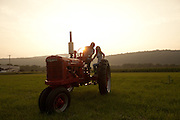 Bill Shaw photographs couple soon to be wedded on their farm in Hackettstown, NJ.