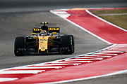 October 19-22, 2017: United States Grand Prix. Carlos Sainz Jr. (SPA) Renault Sport Formula One Team, R.S. 17