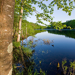 Boulter Pond at Highland Farm in York, Maine.