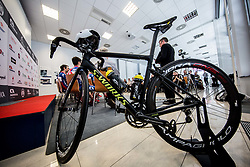 Bike during press conference of KK Adria Mobil Cycling Club before new season 2018, on February 22, 2018 in Novo mesto, Slovenia. Photo by Vid Ponikvar / Sportida