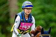 Amanda Sternberg - El Samuel<br /> FEI European Championships Junior and Young Riders 2019<br /> © DigiShots