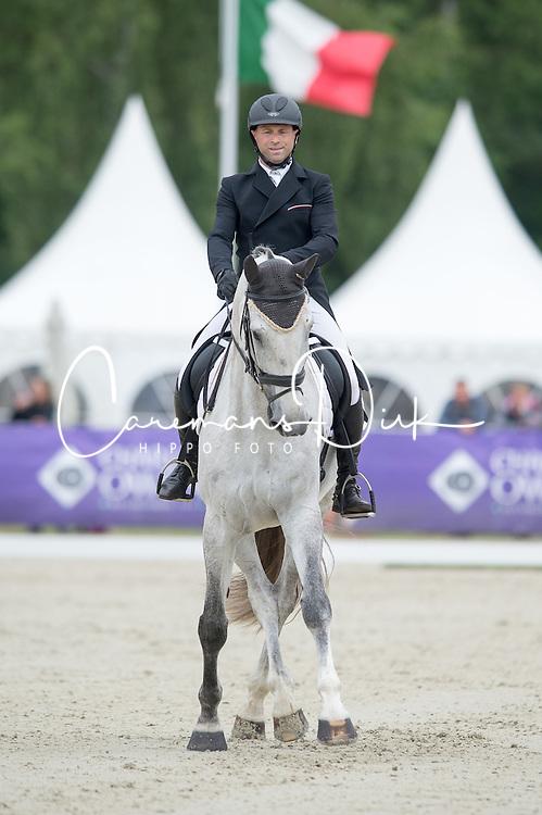 Vanhouche Giel (BEL) - Figaro de Verby <br /> Dressage<br /> CCI3*  Luhmuhlen 2014 <br /> © Hippo Foto - Jon Stroud