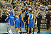 LETTONIA  QUALIFICAZIONI EUROPEE 2011<br /> RIGA 05.08.2010<br /> PARTITA LETTONIA ITALIA <br /> NELLA FOTO TEAM NAZIONALE ITALIA