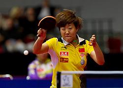 27.02.2011, Westfalenhalle Dortmund, GER, Tischtennis, German Open, im Bild Guo Yan (CHN), Halbfinale Frauen, EXPA Pictures © 2011, PhotoCredit: EXPA/ A. Neis