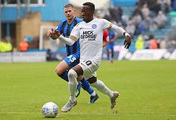 Siriki Dembele of Peterborough United in action against Gillingham - Mandatory by-line: Joe Dent/JMP - 22/09/2018 - FOOTBALL - Medway Priestfield Stadium - Gillingham, England - Gillingham v Peterborough United - Sky Bet League One